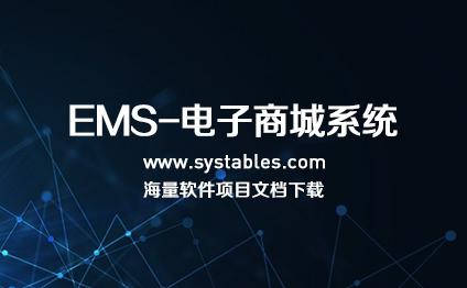 软件开发与设计 - EMS-电子商城系统-华锐行业电子商务系统 v2.0